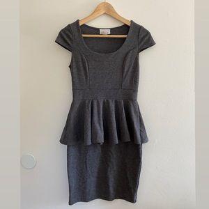 Grey Professional Dress